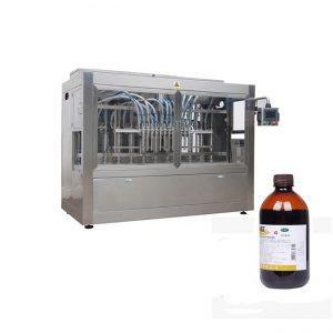 수의 약 액체 병 채우는 선 / 부식성 액체 충전물 기계 선