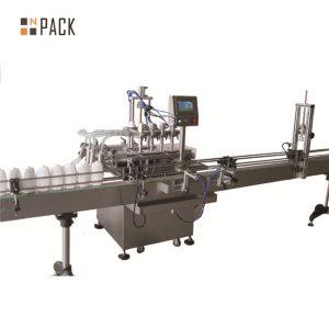 6.5kw 힘 자동적 인 액체 채우는 선 20-50 병 / 최소한도 수용량