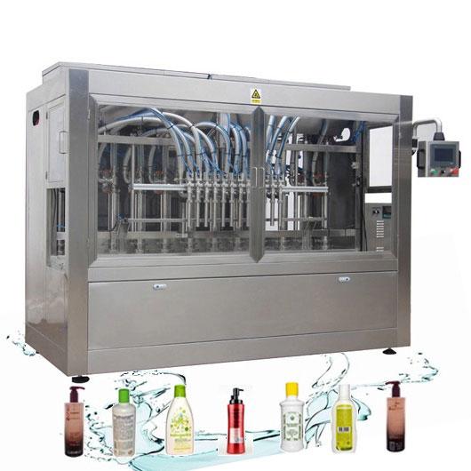 부식-저항하는 자동적 인 액체 채우는 선 세탁 제 충전물 기계