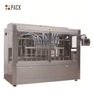 하락 체계를 가진 피스톤 자동 귀환 제어 장치 충전물 기계 / 완전히 자동적 인 선형 충전물 기계