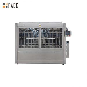 PLC는 250ML-5L 액체 비누 / 로션 / 샴푸를위한 자동적 인 풀 충전물 기계를 통제합니다