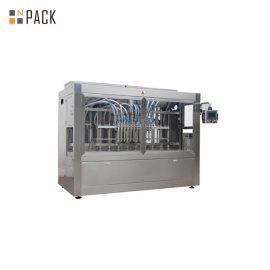 PLC는 농장 화학 제품을위한 완전히 자동적 인 액체 충전물 기계 16 머리를 통제했습니다