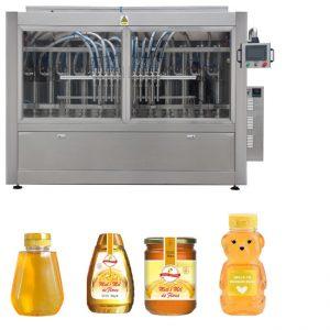 PLC 통제 꿀 단지 채우는 선 자동적 인 액체 채우는 선 GMP 기준