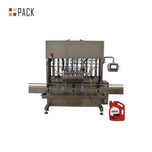 기계 산업을위한 높은 정밀도 윤활유 엔진 기름 충전물 기계 8 분사구
