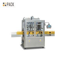 터치 스크린 통제 자동적 인 액체 충전물 기계, 시간 중력 액체 채우는 장비