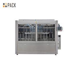 액체 청소기 선형 6 개의 머리 풀 충전물 기계 두 배 자동 귀환 제어 장치