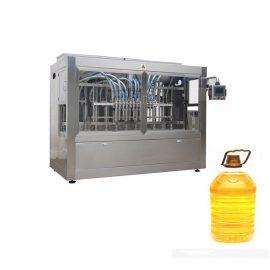 피스톤 충전물 기계와 자동적 인 병 레테르를 가진 산업 자동적 인 액체 채우는 선