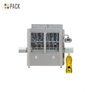 0.5-5L를위한 30-80 B / MIN 자동적 인 8 개의 머리 선형 자동 귀환 제어 장치 모터 통제 피스톤 충전물 기계