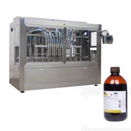 완전 자동 농약 병 충전 라인 기계