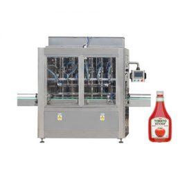토마토 소스를위한 자동적 인 병에 넣는 풀 피스톤 충전물 기계