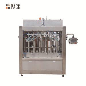 병 충전물을위한 압축 공기를 넣은 크림 풀 액체 충전물 기계
