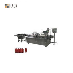 자동 귀환 제어 장치 모터 통제 풀 충전물 기계, 5g-100g 단지 화장 용 크림 충전물 기계