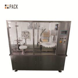 연동 펌프 충전물을 가진 자동적 인 작은 유리 병 병 충전물 기계