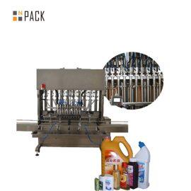 다기능 유리제 세탁 기술자 액체 비누 충전물 기계 자동적 인 액체 채우는 선